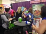 "You could spin a wheel to ""Win Swag!"""