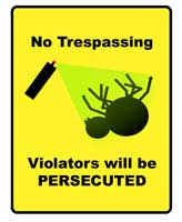 no-rrespassing