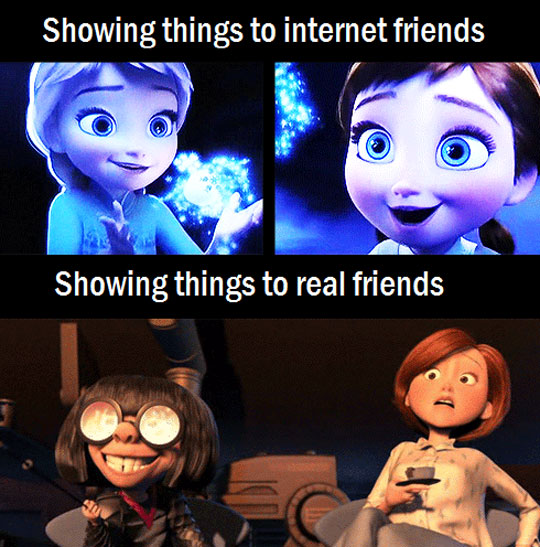 showing-cool-things-to-internet-vs-real-friends-frozen